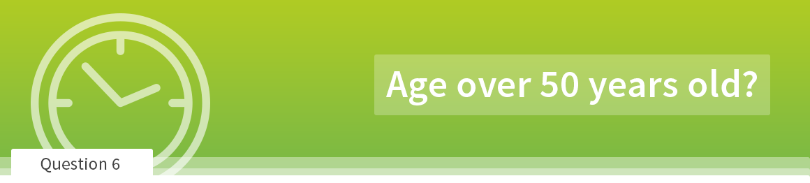 Age over 50 years old?